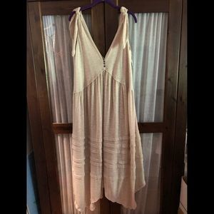 Free people linen dress
